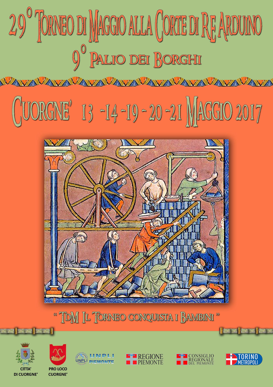 Torneo di maggio alla corte di re arduino cuorgn 2017 for Eventi piemonte domani