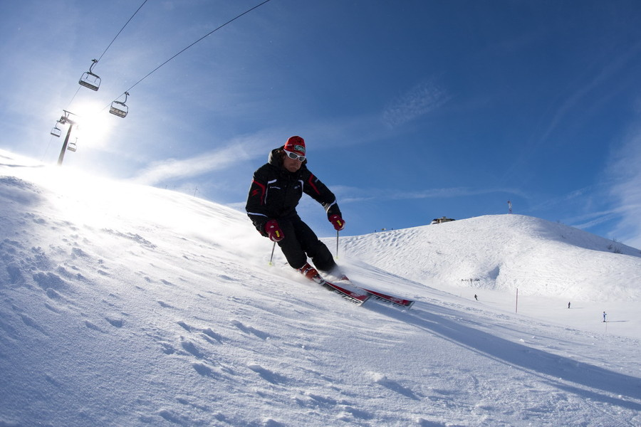 Neve e sci in piemonte - Foto di uno shamrock ...