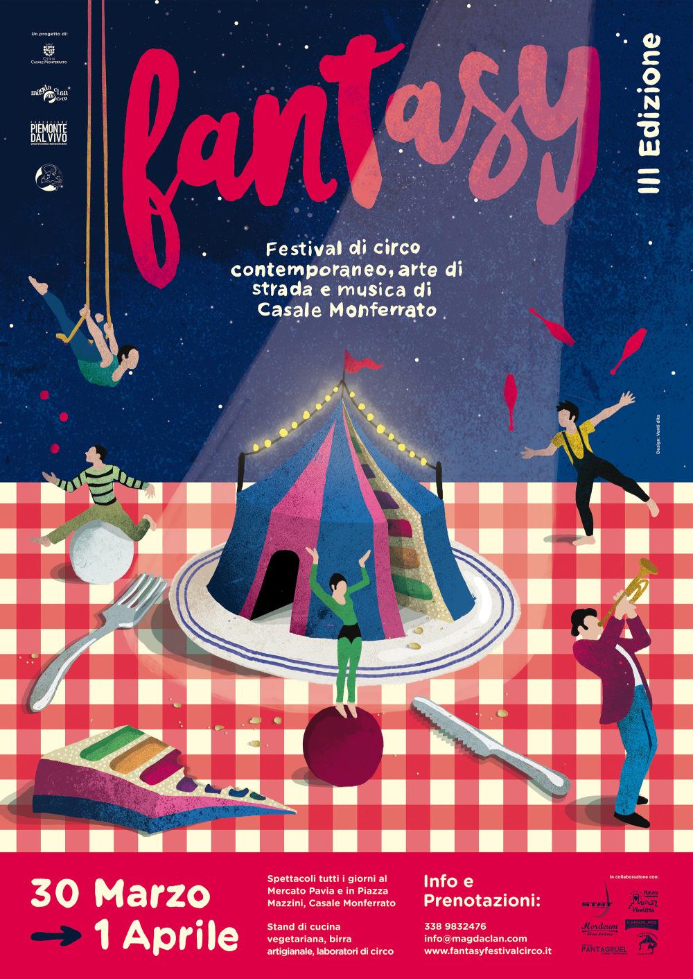 Fantasy circus festival casale monferrato 2018 for Eventi piemonte domani