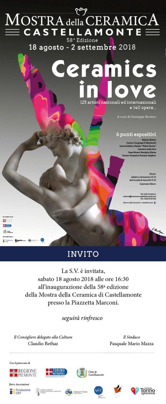 Mostra Della Ceramica Di Castellamonte.58a Mostra Della Ceramica Ceramics In Love Castellamonte Piemonte Expo
