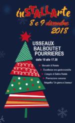 """""""inSTALLArte"""" Mercatini di Natale a Usseaux"""