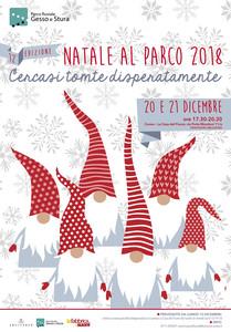 """12° edizione di """"Natale al Parco"""" 2018 a Cuneo"""