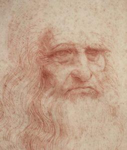 Il ritratto del Vecchio Leonardo