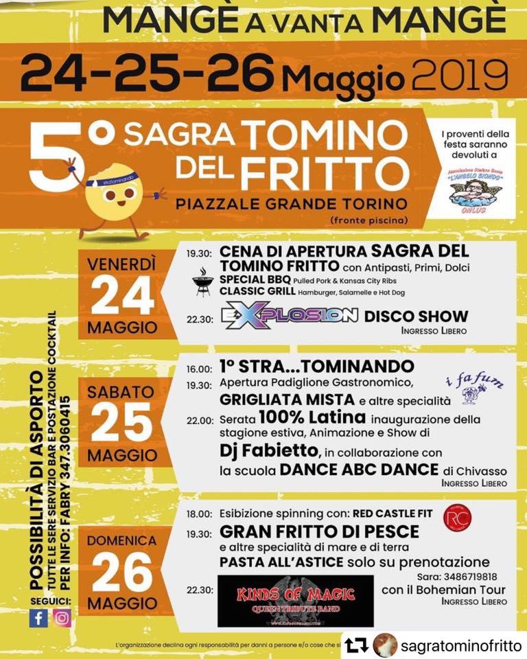 5^ Sagra del Tomino Fritto - Torrazza Piemonte