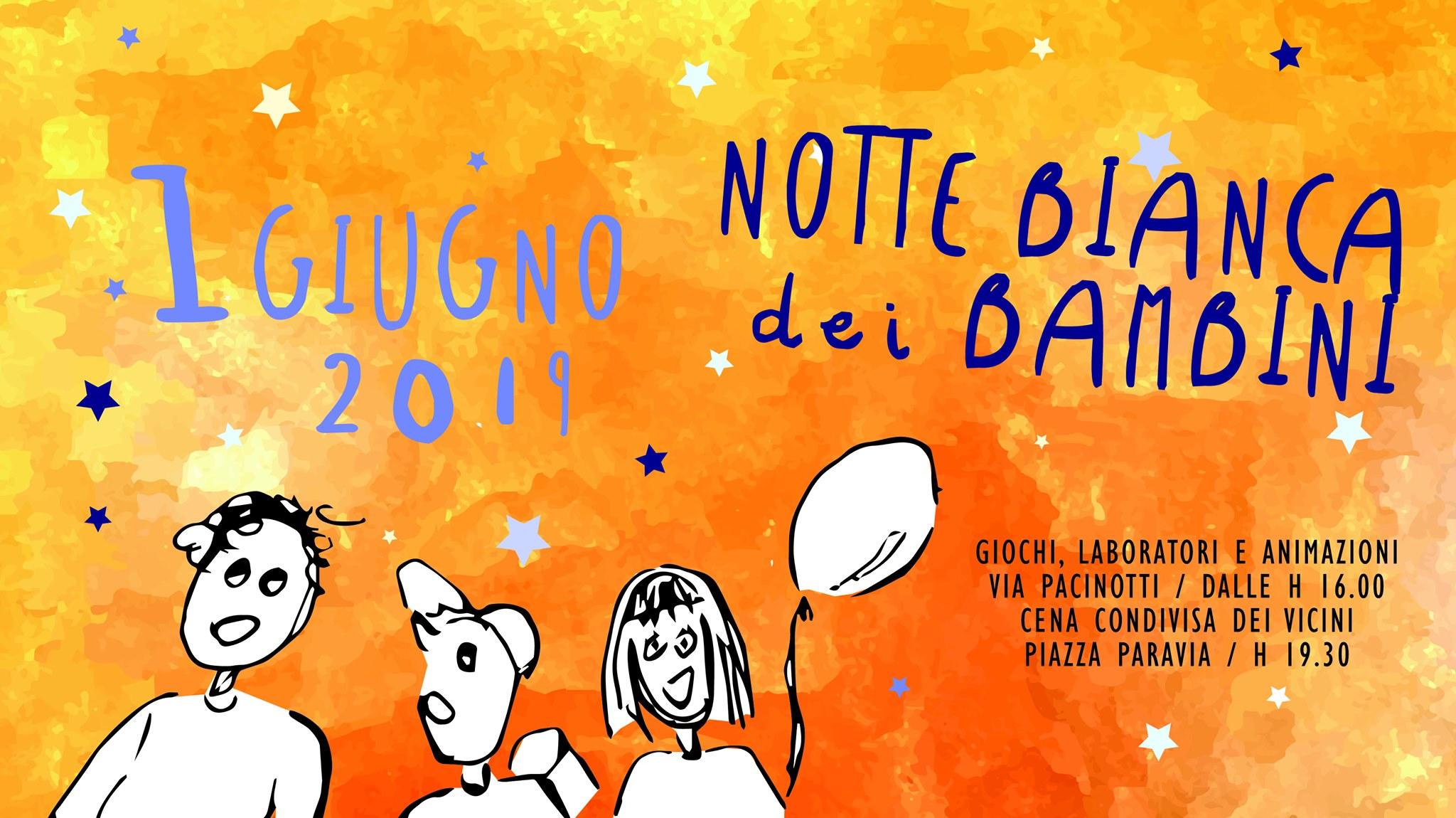 Notte Bianca dei Bambini in San Donato 2019