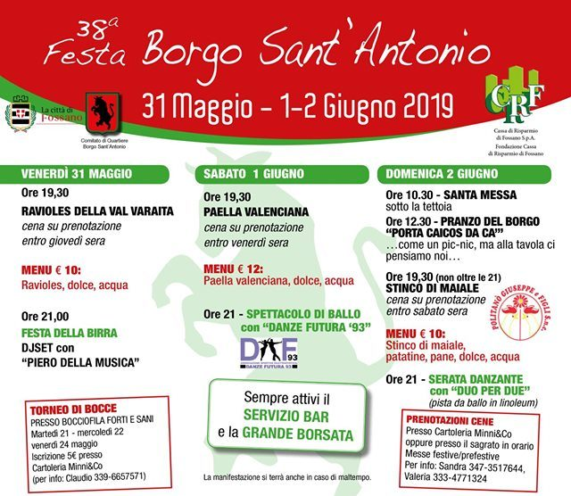 Festa del Borgo di Sant'Antonio - XXXVIII^ edizione