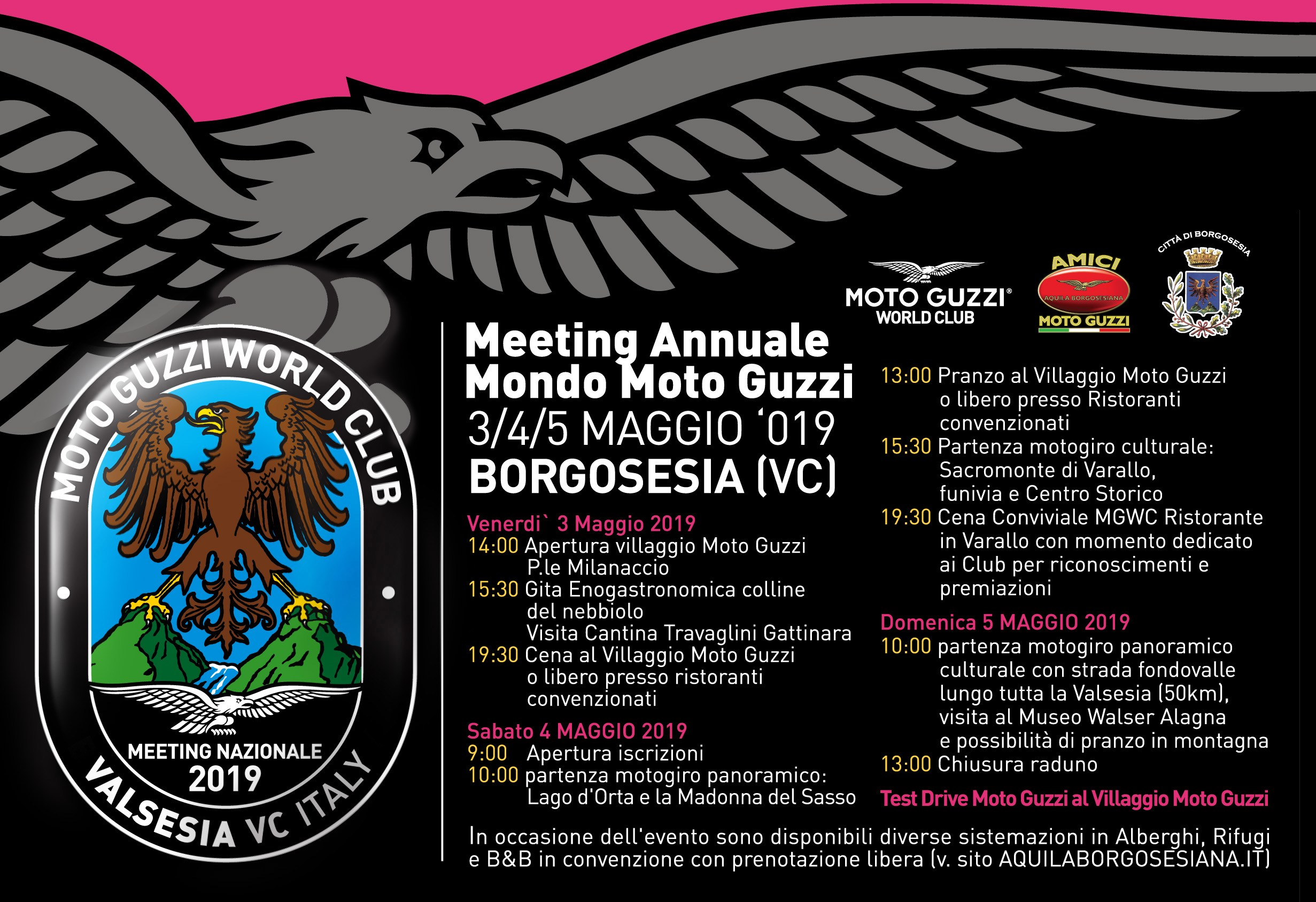 Meeting annuale Moto Guzzi 2019