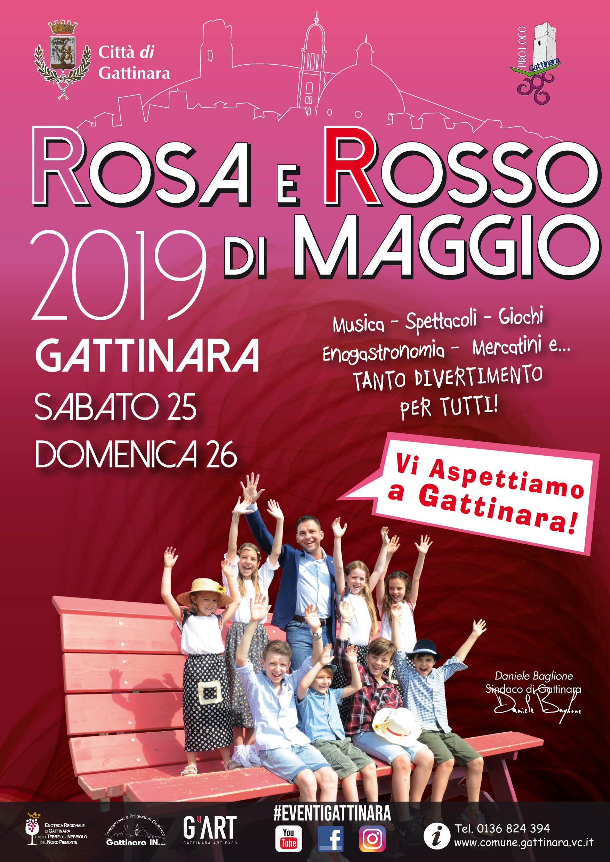 Rosa e rosso di Maggio - Gattinara