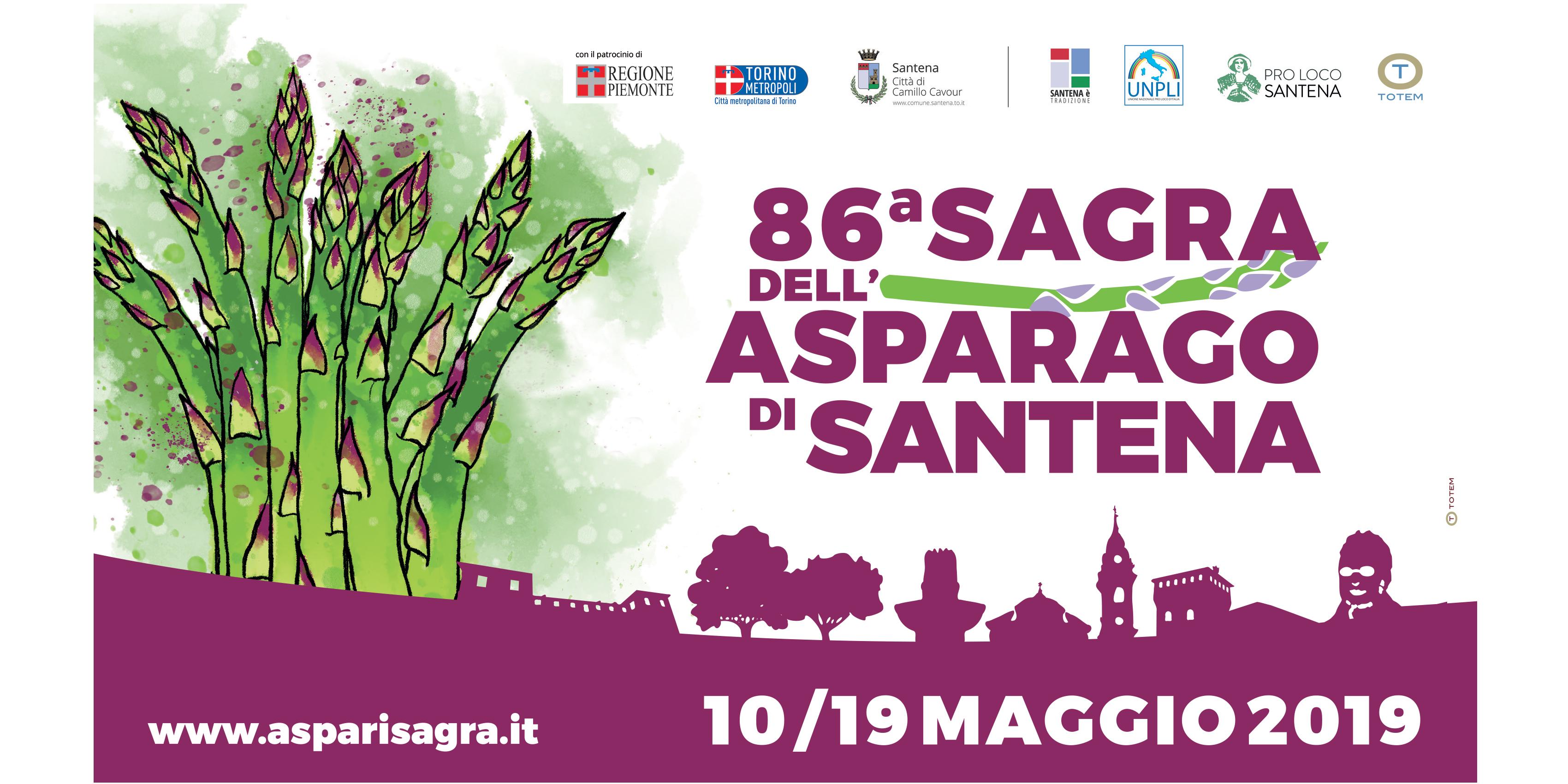 86^ Sagra dell'asparago di Santena