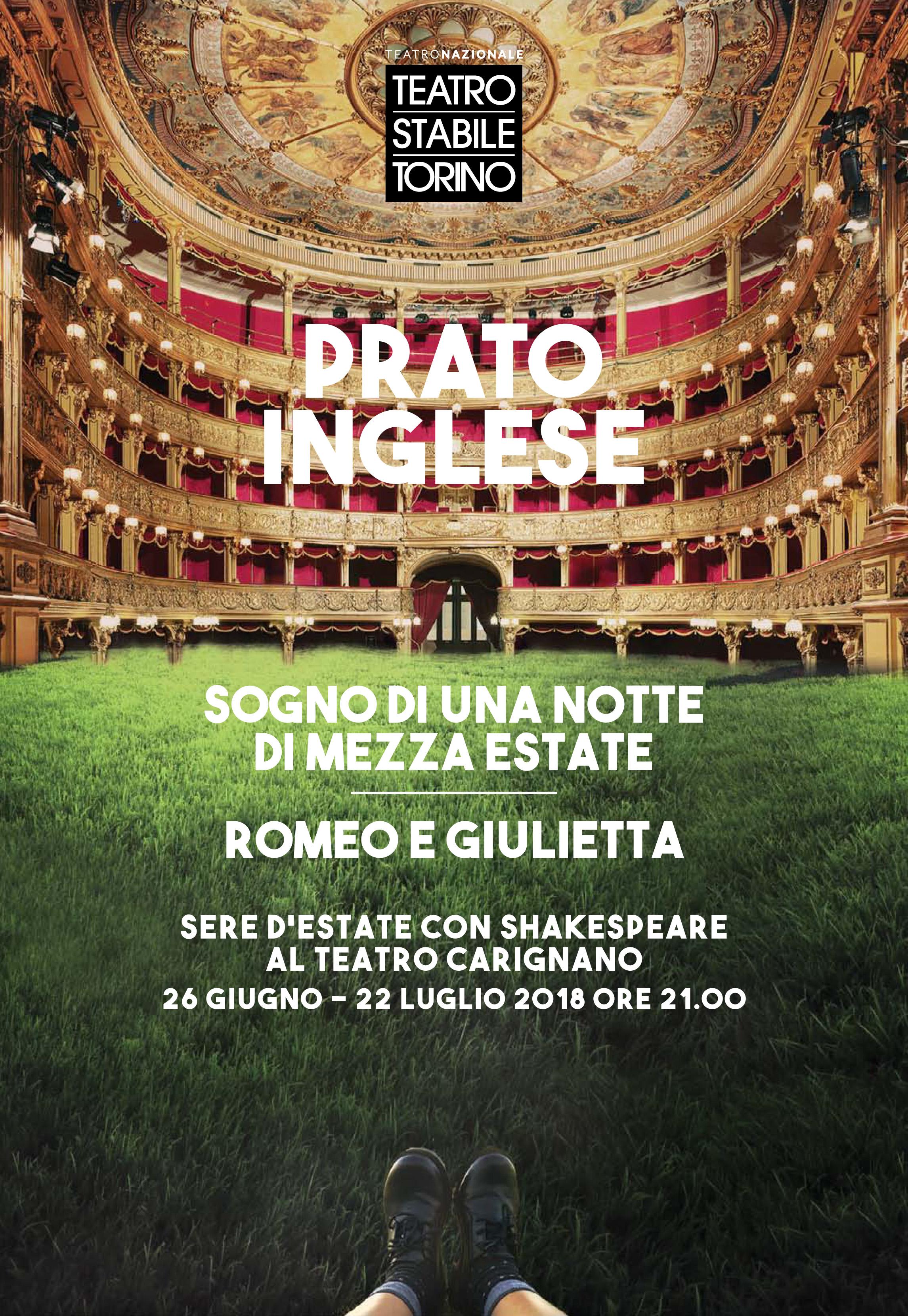 Prato Inglese - Sere d'estate con Shakespeare