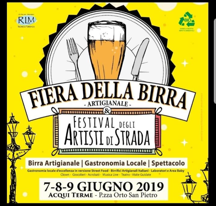 Fiera della birra artigianale e degli artisti di strada - Aqui Terme