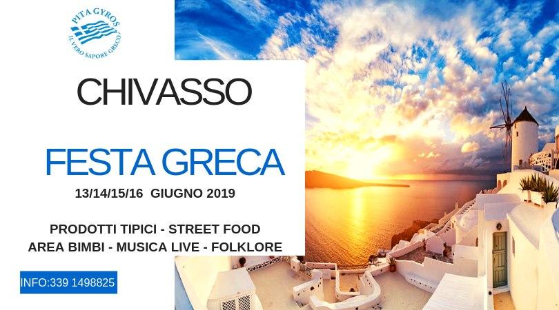 Festa Greca - Chivasso