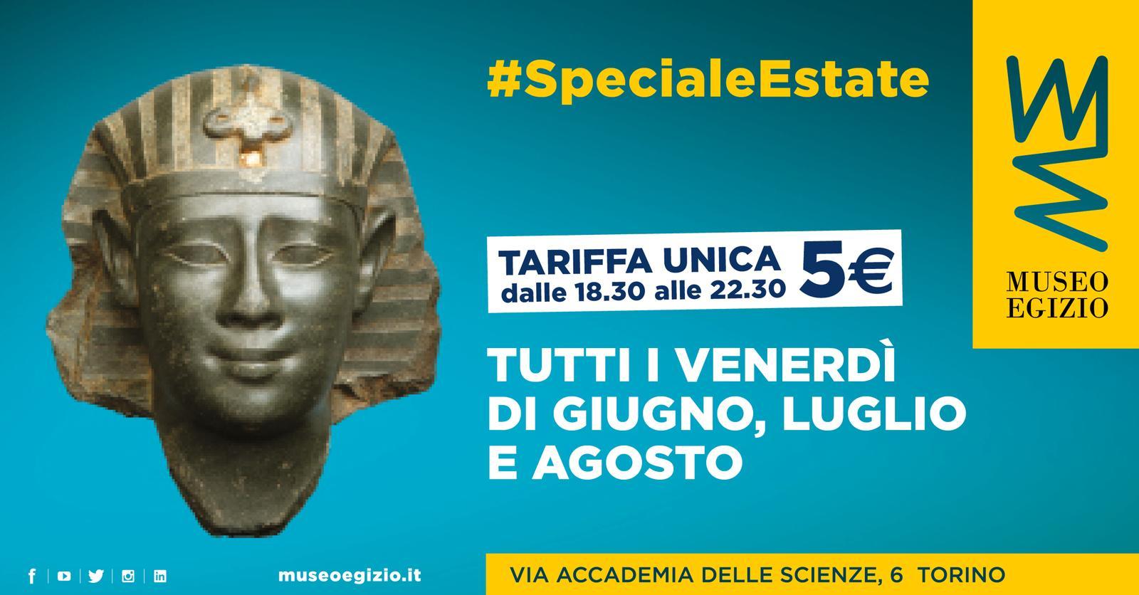 Museo Egizio - Speciale Estate