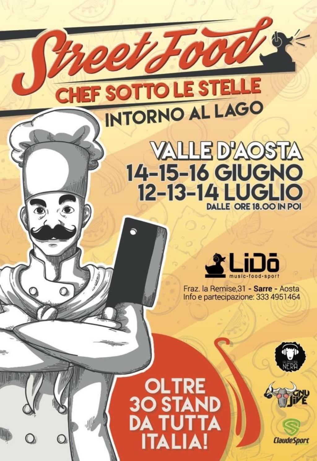 Street Food Valle d'Aosta intorno al lago - V^ edizione