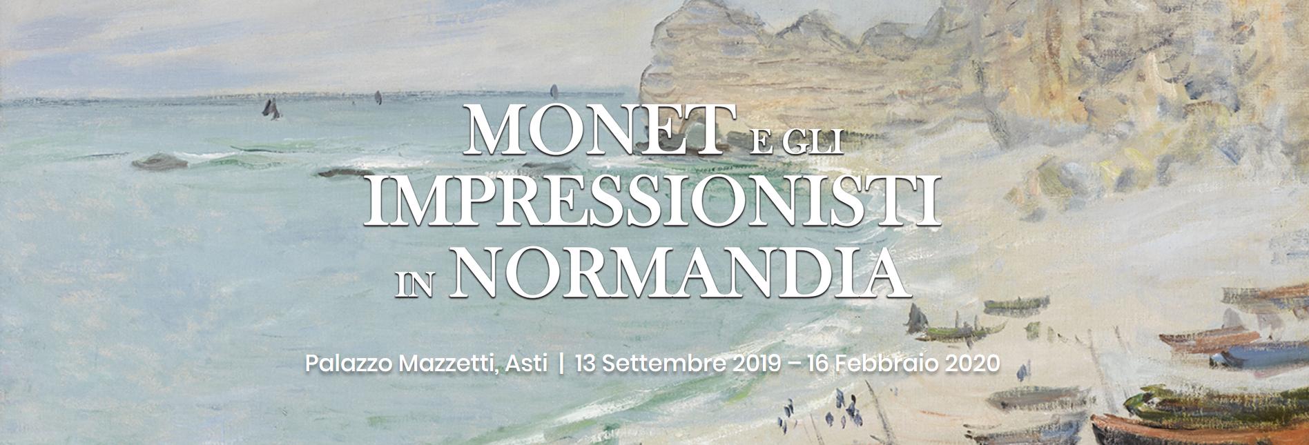 Monet e gli impressionisti in Normandia - Asti