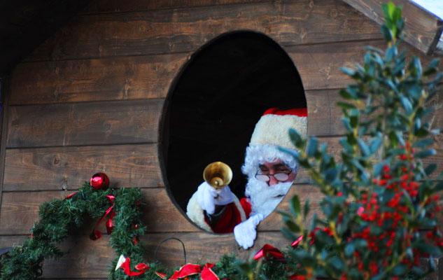 Il villaggio di Babbo Natale a Rivoli