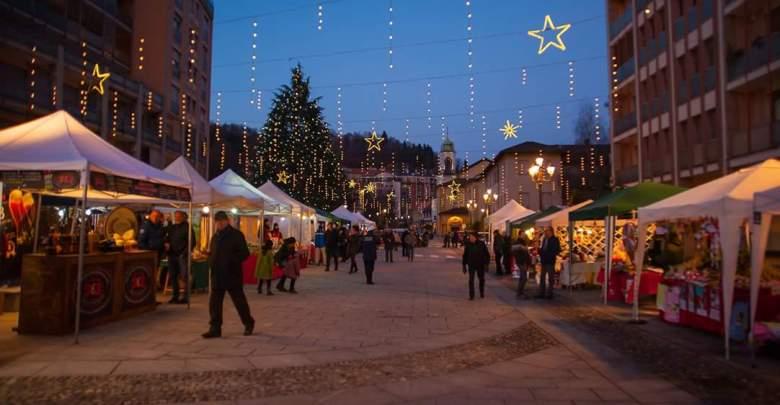 Christmas Village Borgosesia